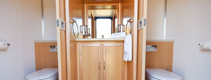 Bring The Outhouse in  The Outhouse provides luxury and elegance in portable  bathrooms  Home. Luxury Portable Bathrooms Melbourne. Home Design Ideas